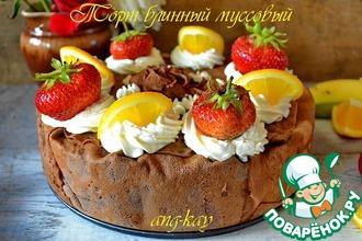 Рецепт: Торт блинный муссовый