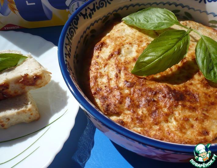Рецепт: Курино-овсяное суфле Сытный завтрак