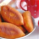 Жареные пирожки с картофелем и укропом