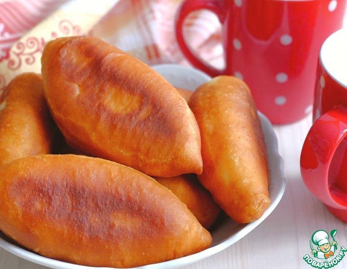 Рецепт: Жареные пирожки с картофелем и укропом