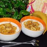 Овсянка с бананами в карамельном соусе