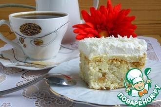 Рецепт: Торт Пина колада