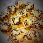 Кабачок с грибами и сыром