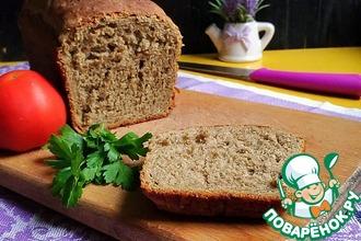 Рецепт: Гречнево-конопляный хлеб К завтраку