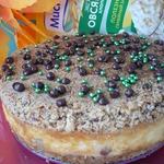 Овсяный пирог с творожной начинкой