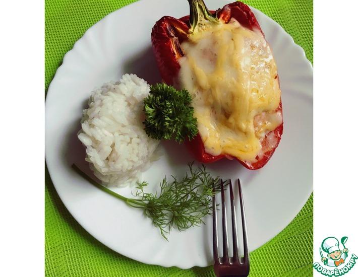 Рецепт: Фаршированный перец в духовке