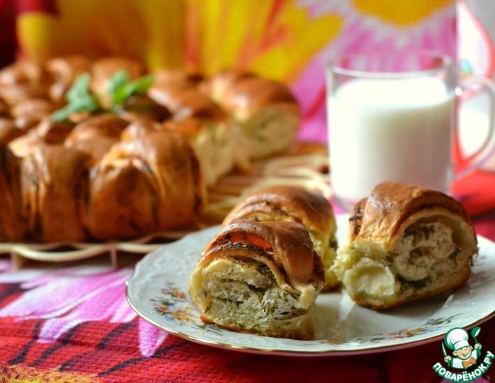 Рецепт: Пирог а-ля тутманик