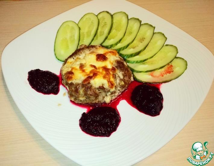 Рецепт: Мясные гнезда с начинкой