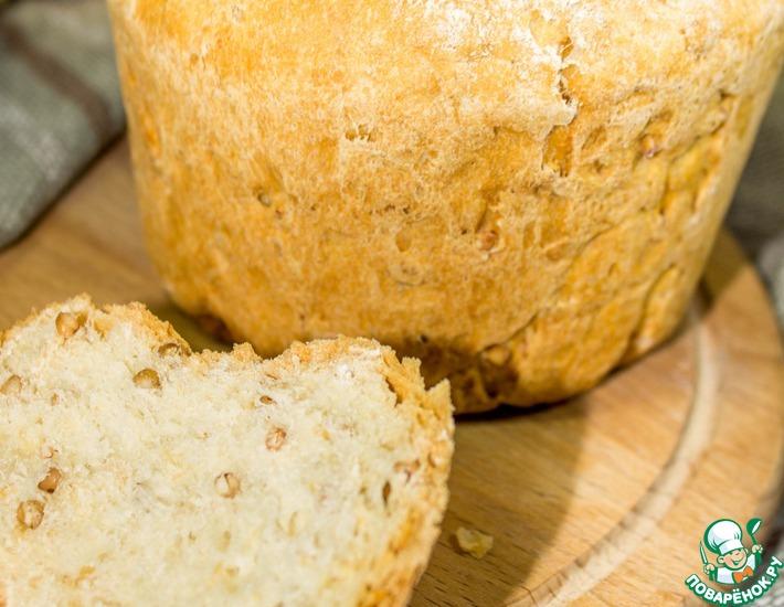 Рецепт: Овсяный хлеб с гречкой