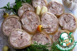 Рецепт: Свино-говяжья колбаса Домашняя