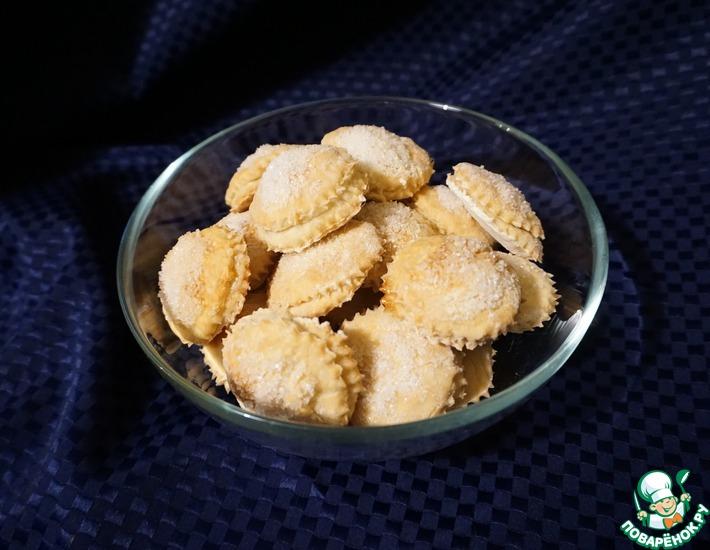 Рецепт: Печенье на пивном тесте
