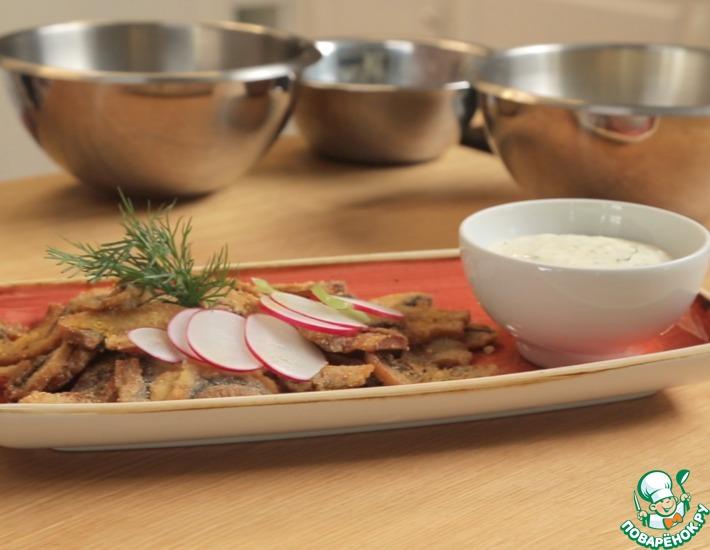 Рецепт: Быстрая закуска из грибов