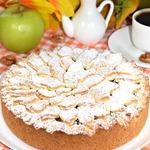 Пирог яблочный Сентябрь