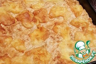 Рецепт: Мясной пирог Быстрая солянка