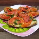 """Баклажаны """"Проще не бывает"""" – кулинарный рецепт"""