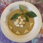 Сырный суп-пюре сытный
