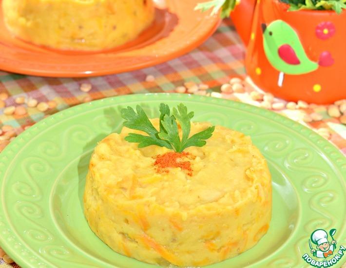 Рецепт: Горохово-картофельное пюре