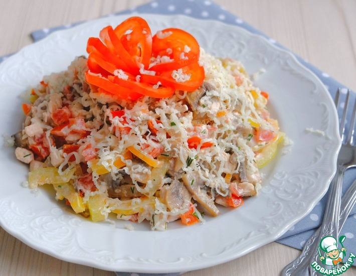 Рецепт: Салат Лето