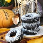 Медовые шоколадно-овсяные пончики
