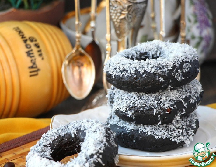 Рецепт: Медовые шоколадно-овсяные пончики