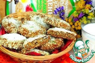 Рецепт: Печенье 7 злаков на рассоле