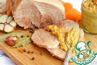 Рецепт: Вареное мясо Базовый рецепт