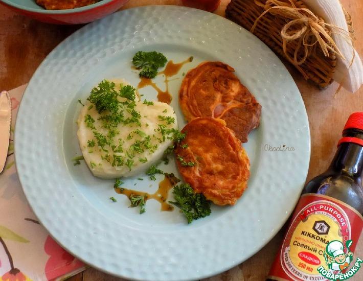 Рецепт: Помидоры в соево-сырном кляре