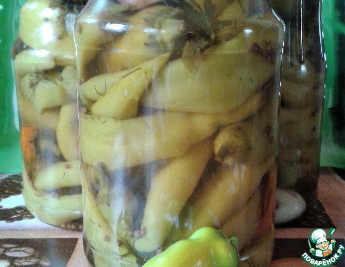Рецепт: Испанский маринованный перец