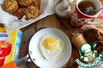 Рецепт: Полезные овсяные кексы на завтрак