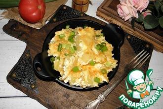 Рецепт: Картофель сливочно-сырный