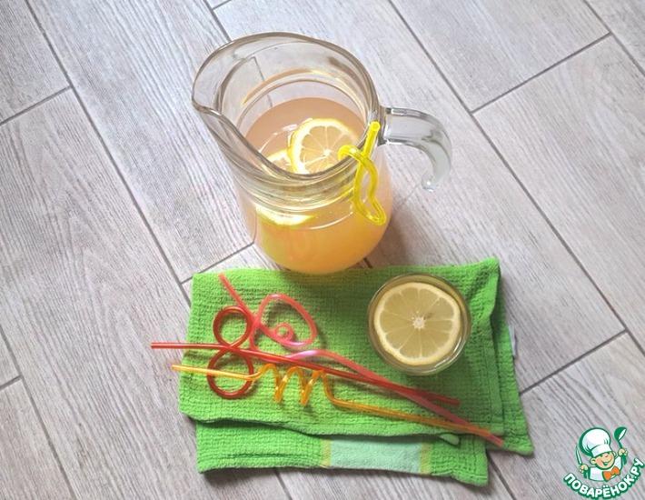 Рецепт: Грейпфрутовый лимонад