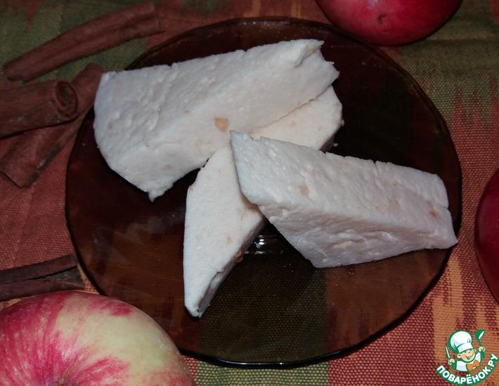 Рецепт: Яблочное суфле-зефир