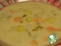 Сырный суп с гречневыми хлопьями ингредиенты