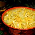 Пикантный осенний салат