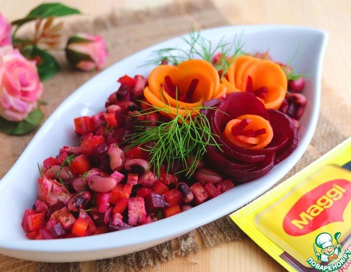 Рецепт: Салат Чио-Чио-Сан
