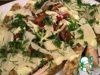 Легкий салат с курицей ингредиенты