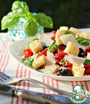 Рецепт: Итальянский салат с куриным филе