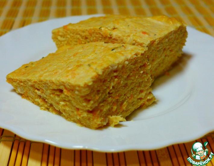 Рецепт: Куриное суфле с овощами