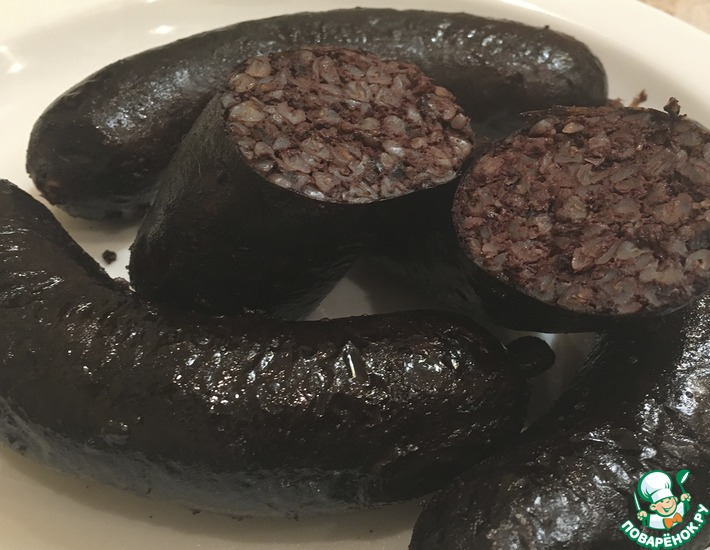 Рецепт: Изумительная домашняя кровяная колбаса