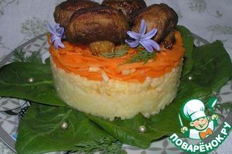 Рецепт: Пряная закуска Золотая грибница