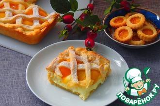 Рецепт: Нежный персиковый пирог