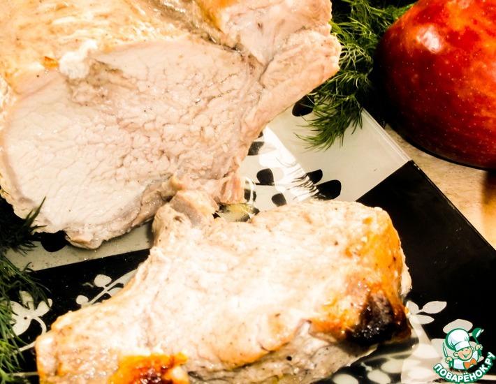 Рецепт: Свинина, запечённая в духовке