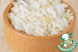 Рецепт: Рис, приготовленный в духовке