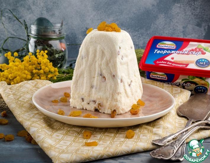 Рецепт: Традиционная пасха с творожным сыром