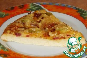 Рецепт: Пицца Самая быстрая