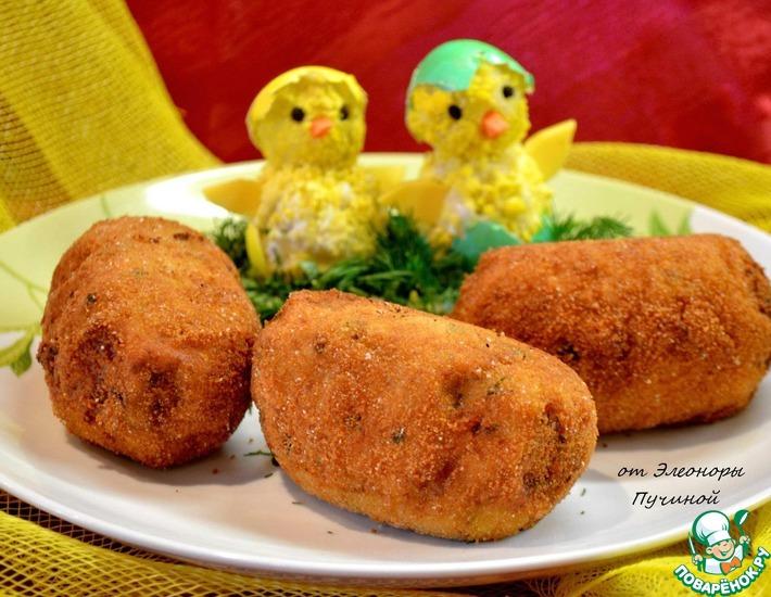 Рецепт: Яйца в футляре