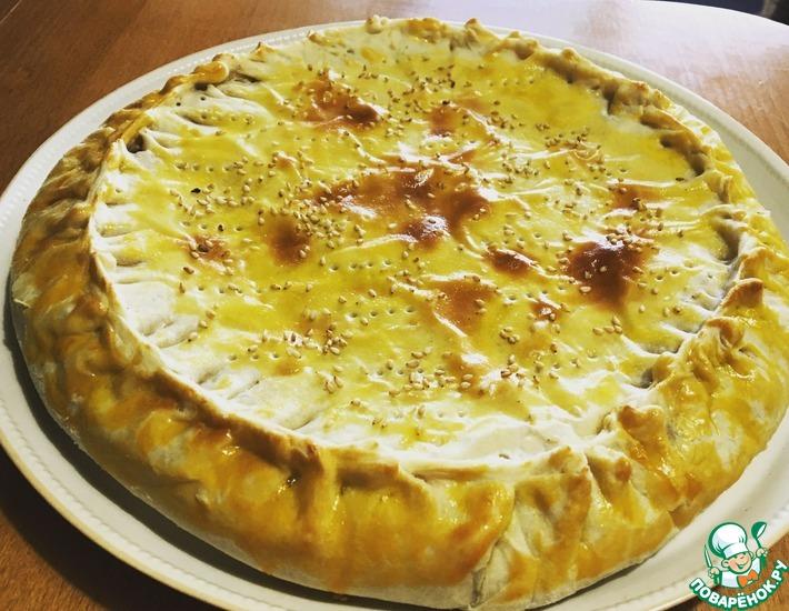 Рецепт: Вкуснейший луковый пирог