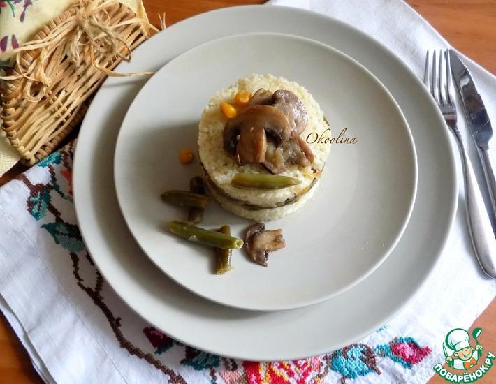 Рецепт: Постное овощное рагу с грибами