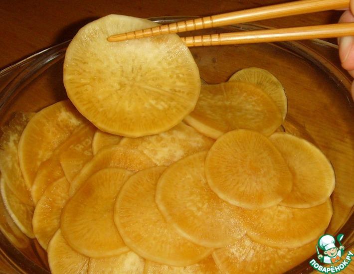 Рецепт: Маринованный дайкон по-китайски
