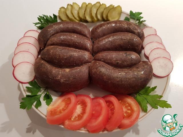 скачать рецепт домашней колбасы из ливера и мяса